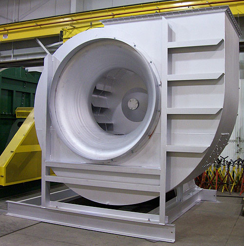 High Volume Industrial Fans : Exaustão industrial tecwey